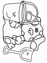 Coloring Clues Blues Pages Fun Wah Tock Tickety Shovel Pail Wubbzy Coloringpages Popular Library Clipart sketch template
