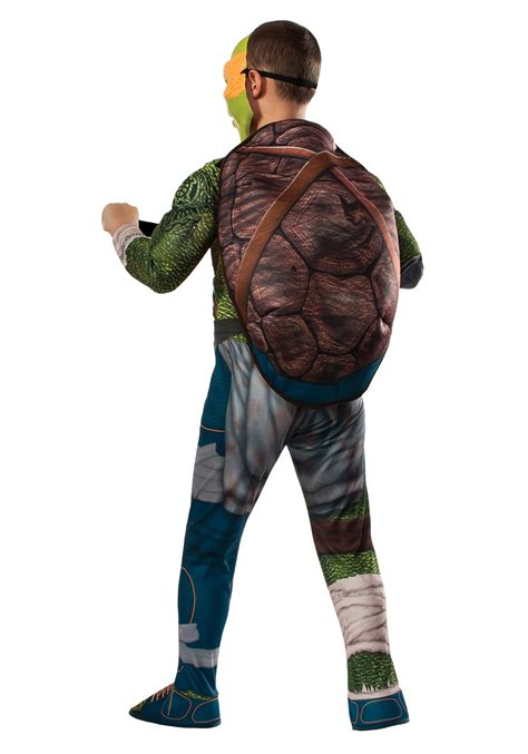 ninja turtle  child deluxe michelangelo costume