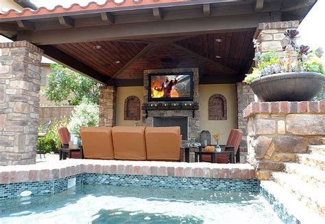 custom built in entertainment centers and home office
