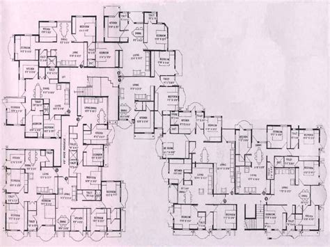 Mansion Plans by Luxury Home Store Castle Floor Plans Mansion Floor Plans