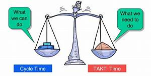 What Is The Difference Of Takt Time Vs Cycle Time