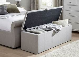 lucia storage chest grey fabric With sofa bed storage bench and storage