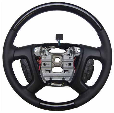 Enclave Acadia Traverse Steering Wheel Ebony