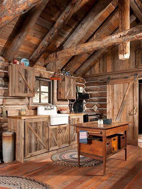 72 Log Cabin Kitchen Ideas | Log cabin kitchens, Rustic ...