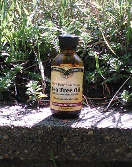 Tea Tree Oil Mosquito Repellent
