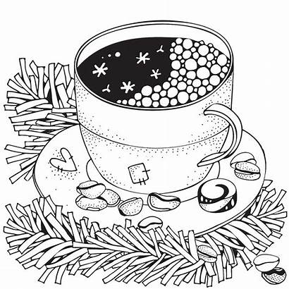 Coloring Winter Pages Printable Puzzle Adult Adults