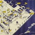 Map, Maryland, Pictorial, Historical, US Naval Academy ...
