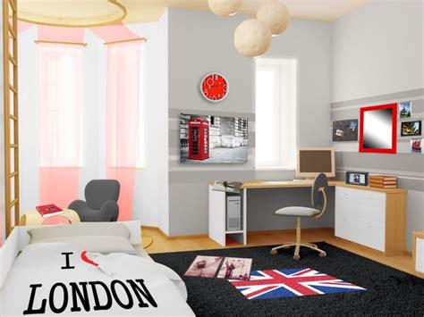 chambre ado urbain décoration d 39 une chambre d 39 ado style urbain londonien