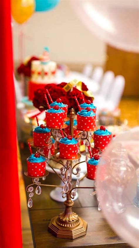 karas party ideas vintage circus birthday party karas