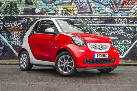 insurance lowest cars convertible fortwo smart honestjohn