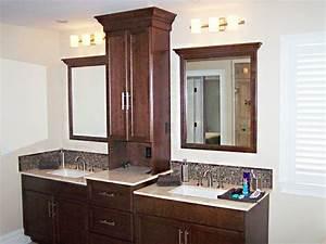 good bathroom vanities with towers double vanity with With bathroom vanities with storage towers