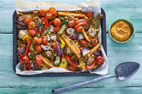recept zoete aardappel groenten en kalkoen uit de oven