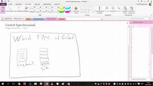Note Taking And Collaborative Drawing With A Digital Pen