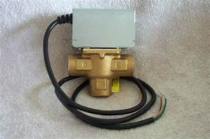 V4044c1098 Diverter Valve 3  4 U0026quot  3 Wire 3 Port  Honeywell