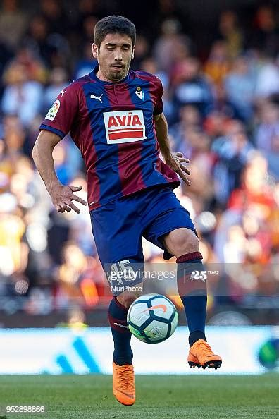 Cote of SD Eibar with the ball during the La Liga game ...