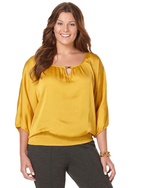 plus size silk blouses size satin blouses blouse with