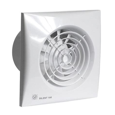 S&p Silent Bathroom Fan From Vent Store
