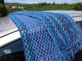 Easy Lace Scarf Crochet Pattern