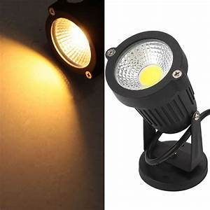 Spot à Led : led 3w cob garden lamp spot light path landscape ip65 waterproof spotlights ebay ~ Melissatoandfro.com Idées de Décoration