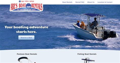Boat Rentals by Boat Rentals In Englewood Fl Abe S Boat Rentals