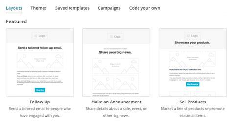 Create A Custom Newsletter Template Mailchimp by Download Mailchimp Create Template From Caign Free
