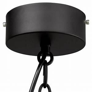 Lampe Metall Schwarz : industrielle h ngende lampe savona metall matt schwarz ~ Articles-book.com Haus und Dekorationen