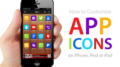 How To Customize App Icons On Iphone, Ipod, Ipad (no