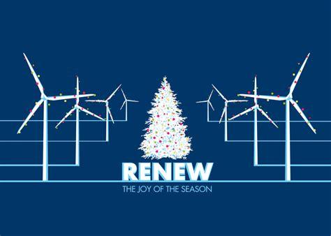 christmas windmills christmas card wind energy christmas