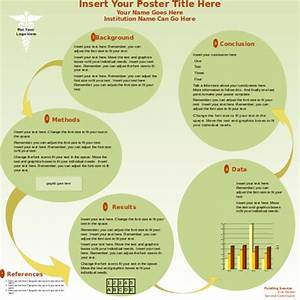 Poster presentation powerpoint template free powerpoint for Posterpresentations com templates