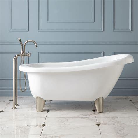 modern bathroom tub hattie acrylic slipper tub modern bathroom