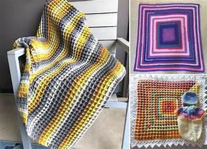 Waffle Stitch Crochet Projects - Free Patterns