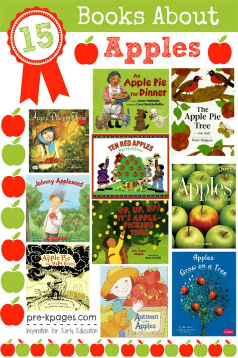 apple theme books for preschoolers pre k pages 234 | apple books