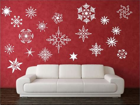 creative christmas decorating ideas  decals
