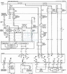 Honda Accord  Circuit Diagram - Cruise Control