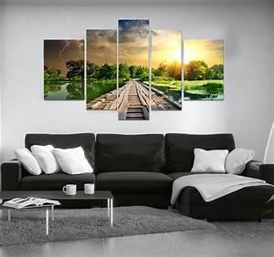 quotartwall and coquot vente tableau design decoration maison With amazing tendance couleur peinture salon 5 paysage de couleurs tableau abstrait artwall and co