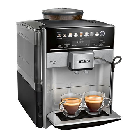 The best quality in the smallest dimensions ideal for:small offices, b&b, small. Siemens Fully Automatic Coffee Machine EQ.6 plus s500 | Friedman & Cohen