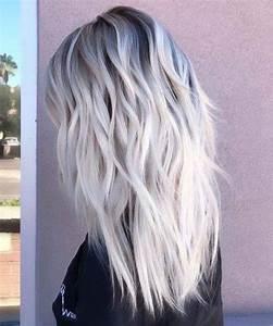 Ombre Hair Blond Polaire : balayage blond polaire et chocolat ~ Nature-et-papiers.com Idées de Décoration