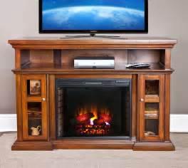 Pasadena Fireplace 60 quot pasadena burnished walnut electric fireplace