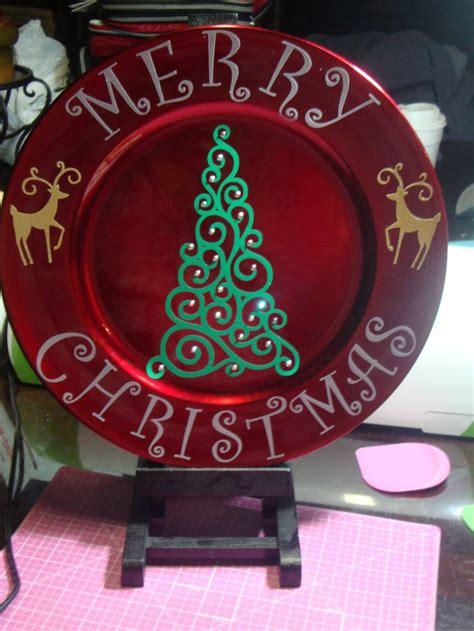 images  vinyl chargers plates  pinterest vinyls vinyl designs  christmas