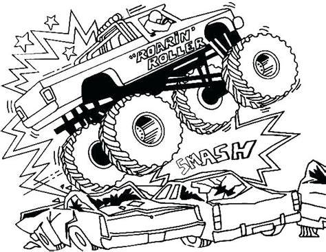 monster truck coloring pages printable  getcoloringscom  printable colorings pages