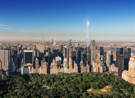 New Rendering Of Extells Central Park Tower Shows
