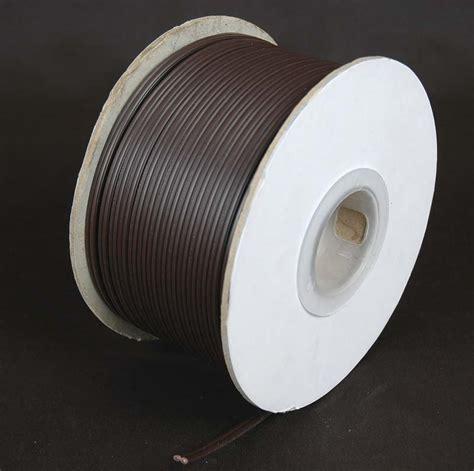 spt 1 extension wire 250 brown outdoor zip wire novelty
