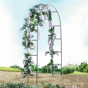 Support Plantes Grimpantes : arche florale achat vente arche arche florale cdiscount ~ Dode.kayakingforconservation.com Idées de Décoration