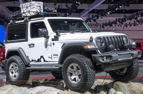 Mopar Shows Off Modified Jeep Wranglers In L.a.