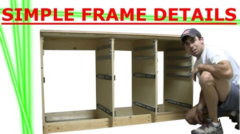 Cabinet Of Drawers by Building Cabinet Of Drawers Frame Details