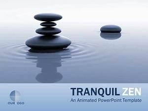 tranquil zen a powerpoint template from presentermediacom With presentation zen powerpoint templates