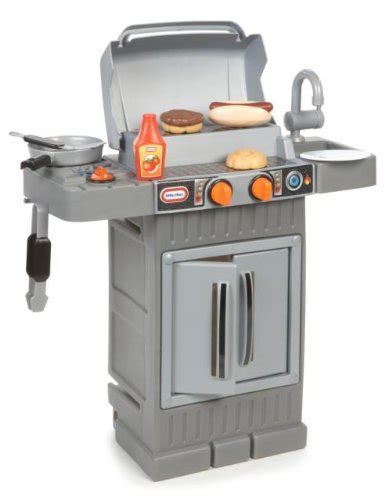 tikes kitchen with grill tikes cook n grow bbq grill ebay