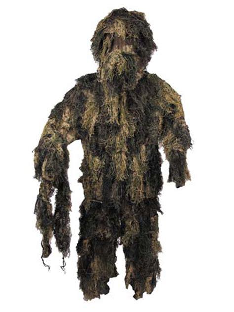 tenue cuisine ghille suit tenue camouflage woodland surplus militaire