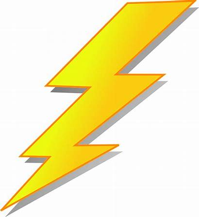 Flash Lightning Thunderstorm Pixabay Vector Graphic Weather