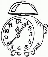 Clock Coloring Alarm Pages Epic Coloringpagesfortoddlers Sheets Owl Clocks Disimpan Dari Craft sketch template